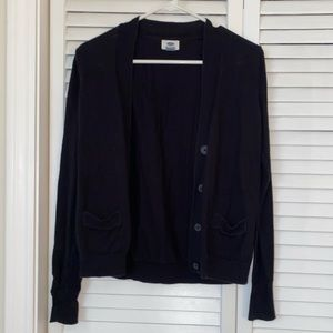 Old Navy Size Medium Black Cardigan